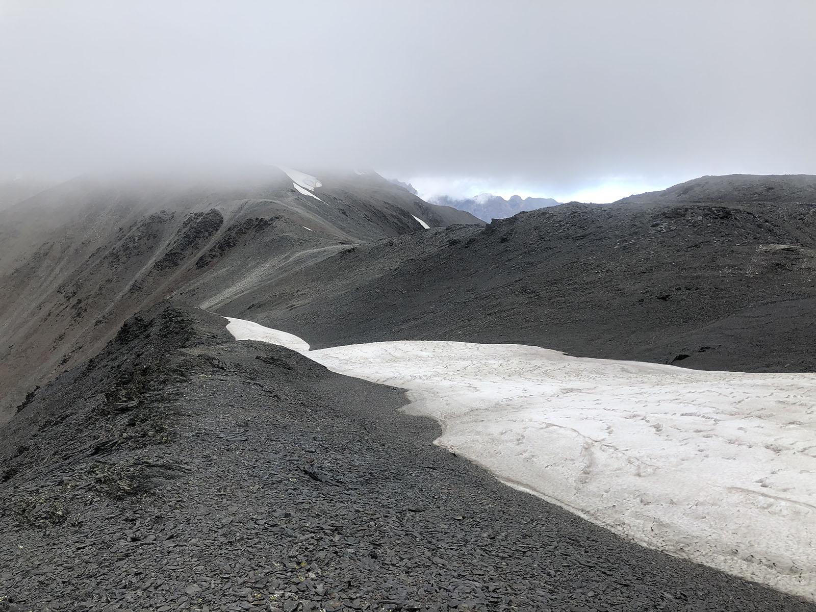 На перевале Закка