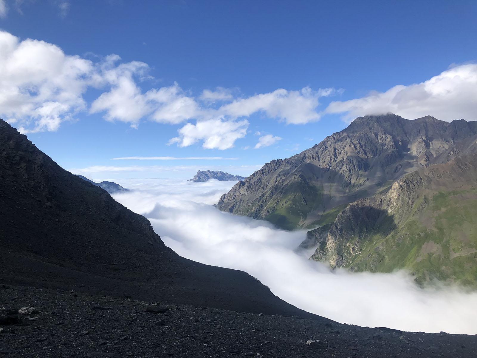 Вид с перевала Закка