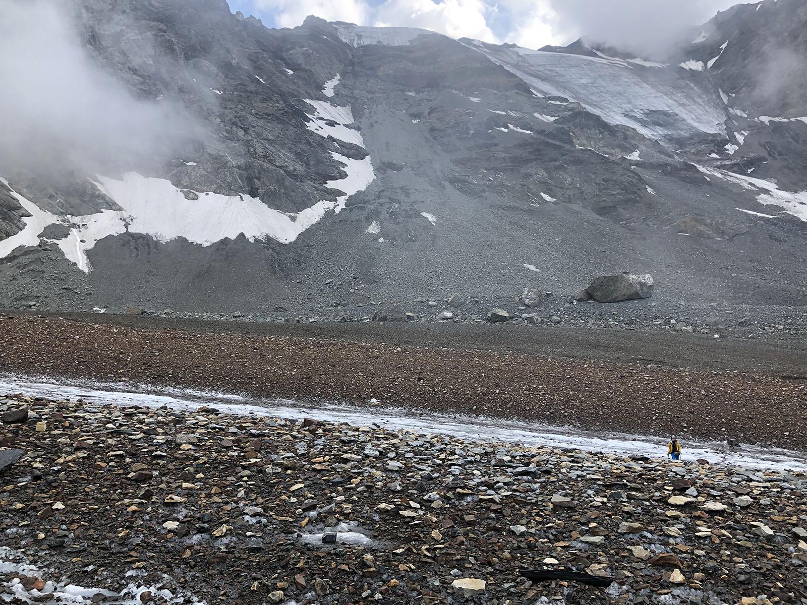Морена мидаграбинского ледника
